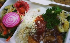 風土然ロコモコ丼